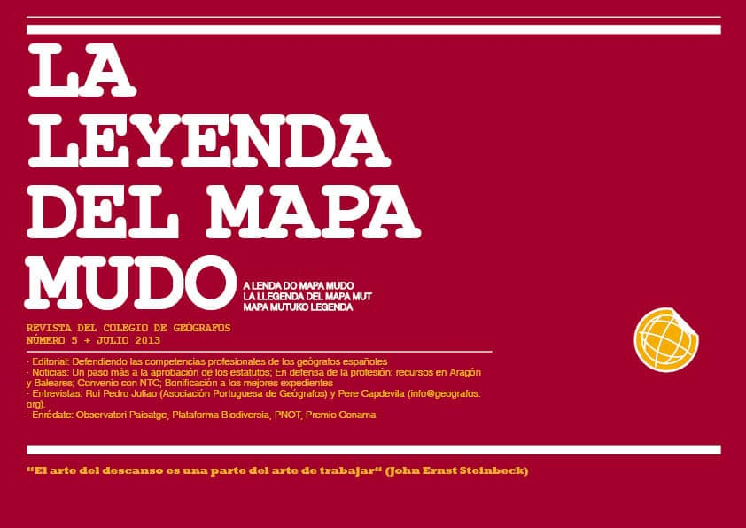 Portada Revista Julio 2013