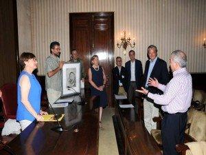 Entrega del Premio Nueva cultura del Territorio - Asociación de Geografos españoles