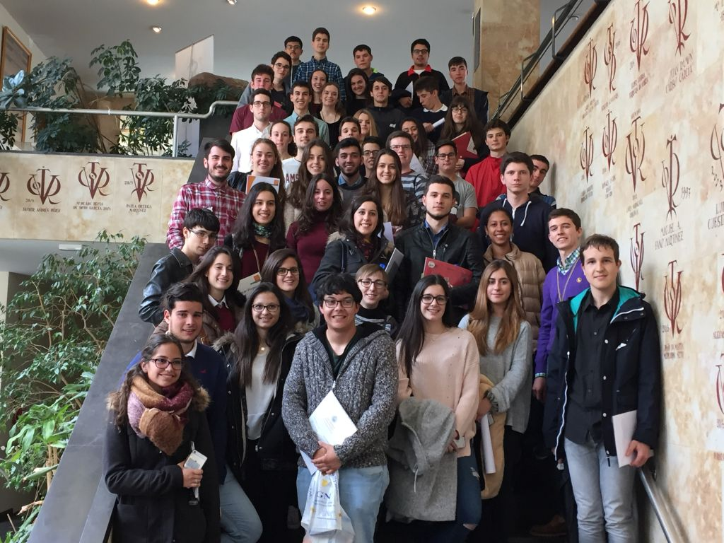 Participantes en la Fase Final de la VII Olimpiada en Salamanca