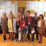 Ganadores V Olimpiada de Geografía celebrada en Jaca (Huesca)