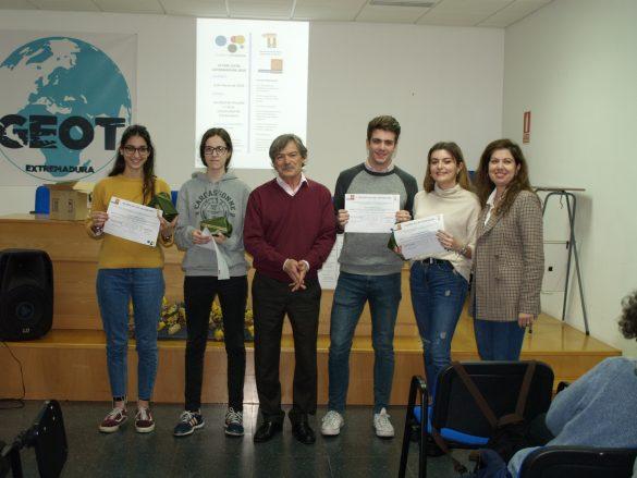 VI Olimpiada de Geografía en Extremadura