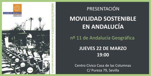 Presentación revista _Andalucía Geográfica_