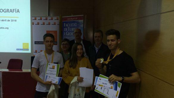 Ganadores de la IXª Olimpiada de Geografía - Vila-Seca 2018