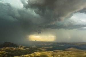 Imagen ganadora del IV Concurso de Fotografía Meteorológica de Beniarrés. David Mancebo, Nerja.
