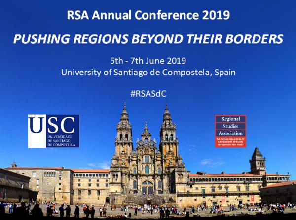 Regional Studies AssociationAnnual Conference 2019