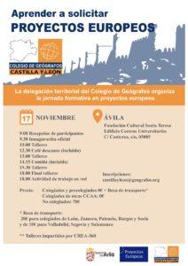 Jornada formativa - Aprender a solicitar Proyectos Europeos