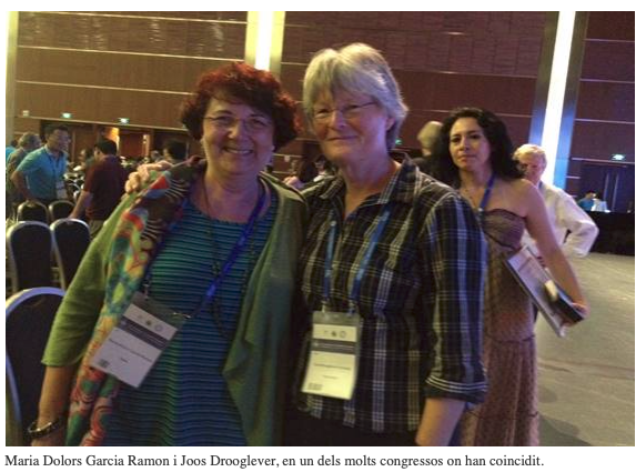 Dones, geografia i acadèmia jornada en conmemoració del día de la dona