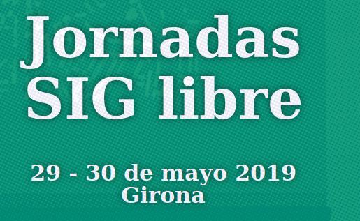 Jornadas SIG Libre Girona 2019
