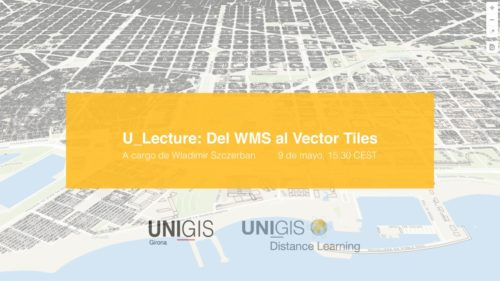 Webinar gratuito : Del WMS al Vector tiles
