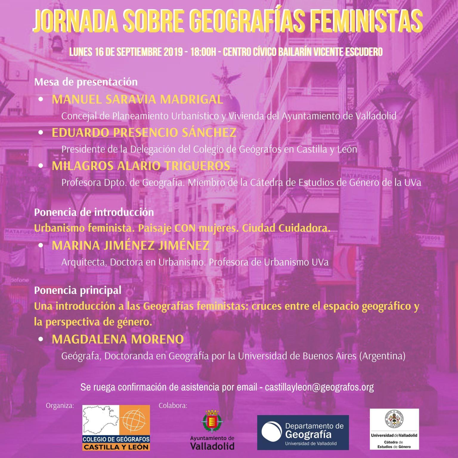 Jornada sobre Geografías Feministas