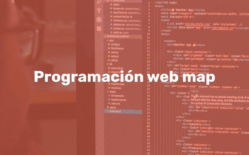 Curso de especialización en Programación de aplicaciones web map
