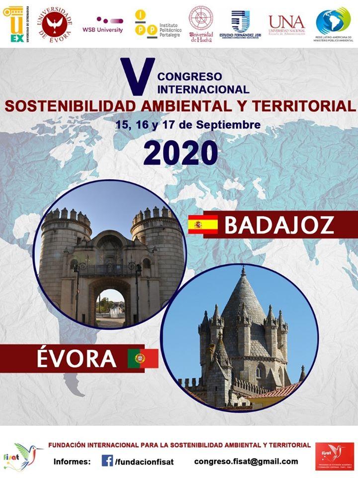 V congreso de FISAT - Sostenibilidad Ambiental y Desarrollo Territorial
