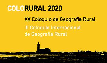 XX Coloquio de Geografía Rural de la Asociación Española de Geografía