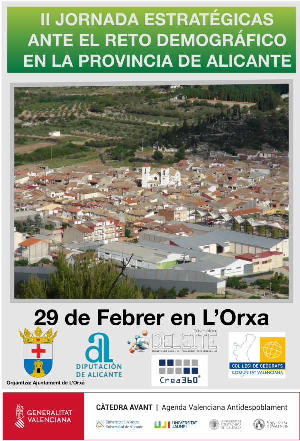 II Jornada Estrategias ante el reto demográfico en la Provincia de Alicante