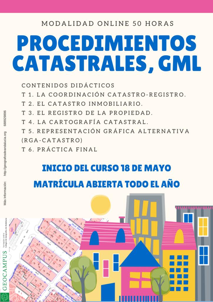 CursoProcedimientos Catastrales, GML