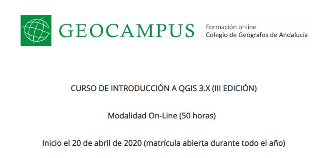 Introducción a QGIS 3.x (3ª edición)