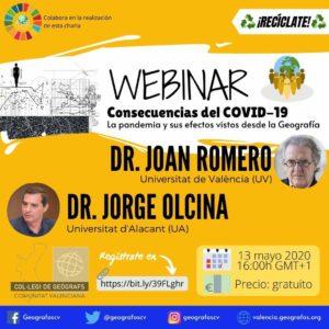 Consecuencias del COVID-19 La pandemia y sus efectos vistos desde la Geografía