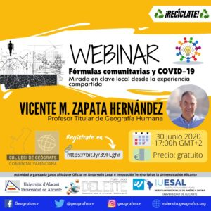 Webinar formulas comunitarias y covid-19