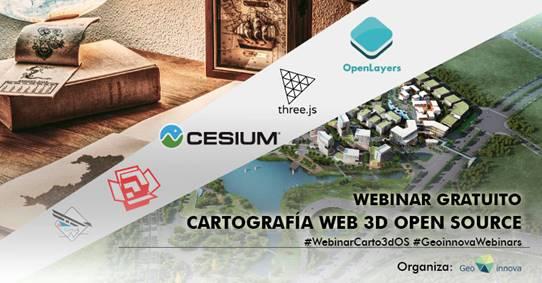 Webinar gratuito: Cartografía web 3D Open Source