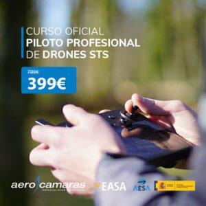 Curso oficial Piloto Profesional de Drones STS