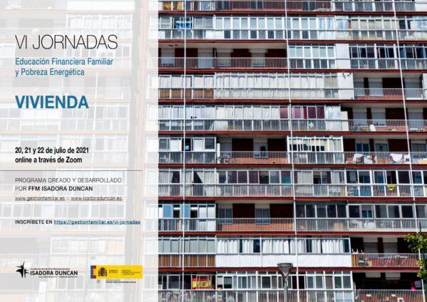 VI Jornadas de Educación Financiera Familiar y Pobreza Energética organizado por la fundación FFM Isadora Duncan