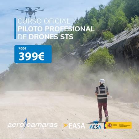 100€ de descuento directo en el Curso oficial de piloto profesional de drones
