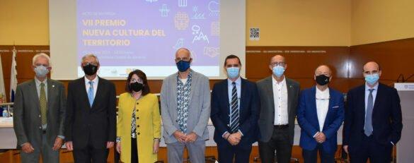 Participantes en el acto de entrega del VII Premio Nueva Cultura del Territorio