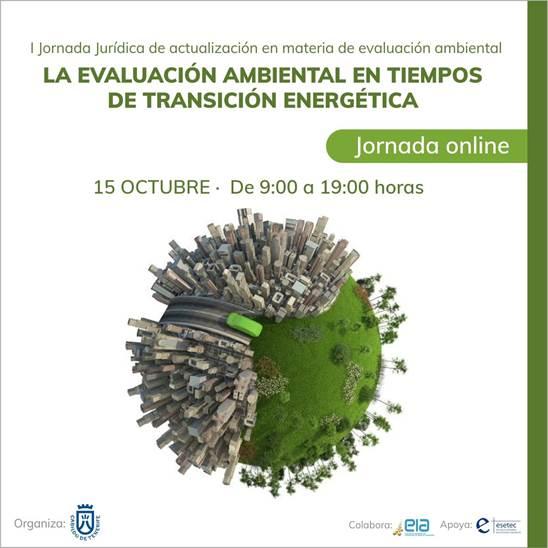 Jornada evaluacion ambiental en tiempos de transición energética