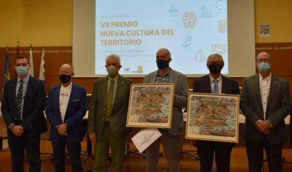 Premiados con el VII Premio Nueva Cultura del Territorio